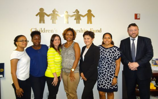 CSF participating schools met with New York program staff this week for a scholarship management workshop.